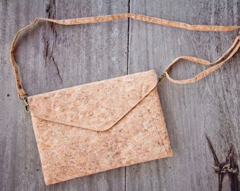 Cork Bag, Kork - Handbag made from recycled cork