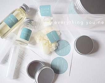 Make Your Own Lip Balm Kit - Conditioning Coconut