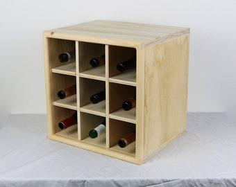 Cube Wine Bottle Insert (INSERT ONLY)