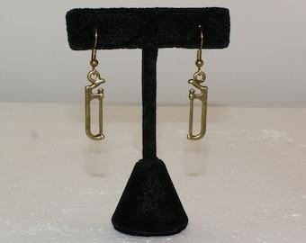 3D Hand Saw Earrings Bronze Hand Saw Earrings Steampunk NY