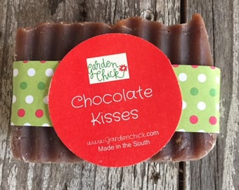 Chocolate Kisses Handcrafted Soap