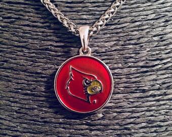 University of Louisville Cardinal Necklace