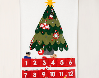 Advent Calendar with Bonus Ornaments