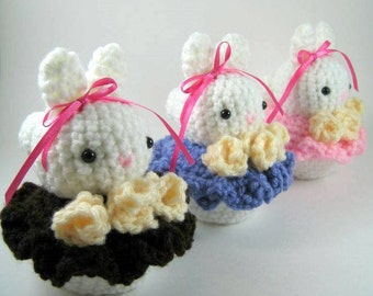 Bunny Cakes Amigurumi Pattern - PDF FILE