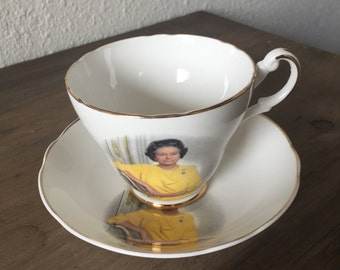vintage Queen Elizabeth china tea cup