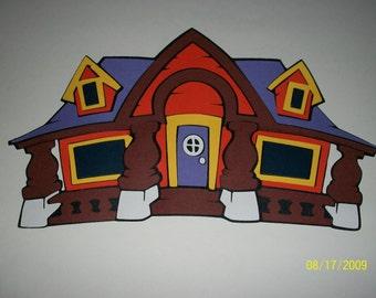 Mickey Mouse House diecut-halloween