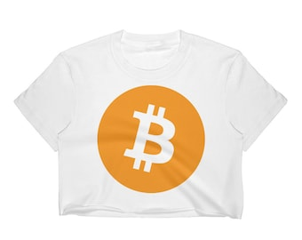 Bitcoin Women's Crop Top,Bitcoin Crop Top,Crop top yoga,crop top hippie,crop top white,Crop top workout
