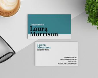 Custom business cards etsy custom business card design 43 business card business card template pre colourmoves Gallery