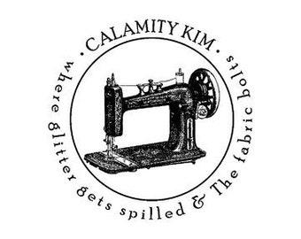Antique Sewing Machine Stamp custom