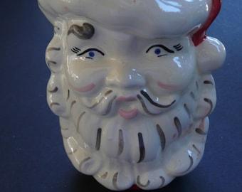 Santa Vase