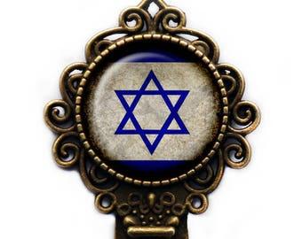 Israel Israeli Flag Bookmark