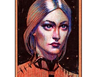 """Colored Pencil Portrait (11""""X14"""")"""