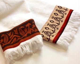 Beach House Hand Towels Absorbent Tea Towels Fingertip Palm