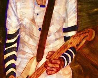 Billy Corgan of the Smashing Pumpkins - Limited Edition Giclee Print 16 x 20