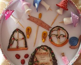 Fairy house / garden kit.