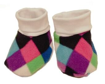 Baby slippers, harlekin multicolor