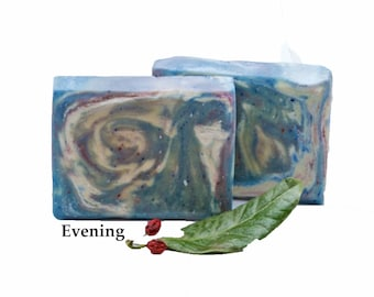 Cold Process Soap Organic Soap Handmade Bar Scented Soap Gift For Her Soap Evening