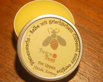 Beeswax ointment with extra virgin Greek olive oil, without any additives