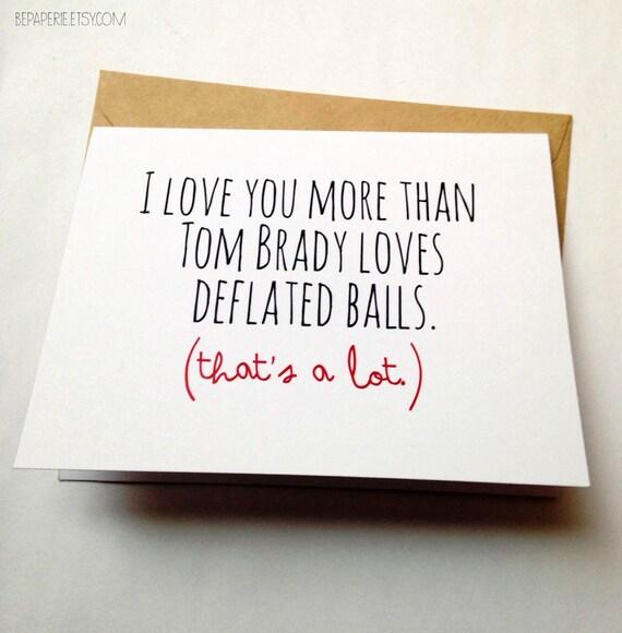 Funny love card joke card tom brady football card bookmarktalkfo Image collections
