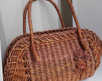 basket, bag, woven bag, bag, paper, vines, bag of vines, fashion bag,  плетеная сумка, сумка из бумажной лозы, сумка из лозы, модная сумка,