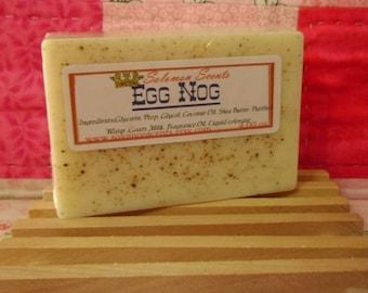 Egg Nog Shea Butter & Goats Milk Soap