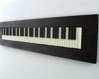 Piano Art, Piano Wall Art, Wood Piano Art, Piano Wood Art, Abstract Piano, Wood Art, Wood Wall Art, Piano Keys Art, Art for Pianist