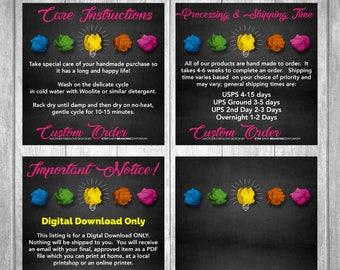 Custom Design Order - Custom Branded Listing Image Backgrounds - Branded Listing Images