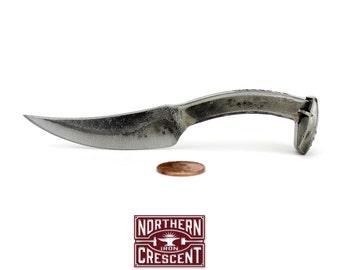 Tiny Railroad Spike Knife K1-T - Groomsmen Gift, miniature knives, mining spike knife, cool gift for him