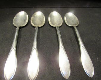 Pickwick Silverplate 1938 by International Silver, Serving Spoons, Silverplate Flatware, Set of 4  (1569)