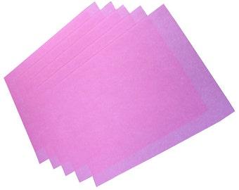 """3M 4000 Grit Wet or Dry Polishing Paper Pink - Pkg of 5 (8.5"""" x 11"""")  (EM2703)"""