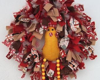 Chicken Rag Wreath
