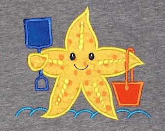 Beach starfish