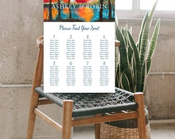 Seating Chart - Falling for Love 2 (Style 13851)