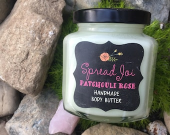 Spread Joi Patchouli Rose Body Butter