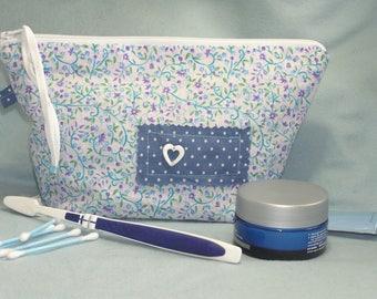 Kit toilet liberty blue and white