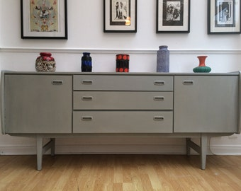 SOLD - commissions taken Sideboard - Cabinet - Retro - Vintage - Danish Style - Mid Century - Annie Sloan