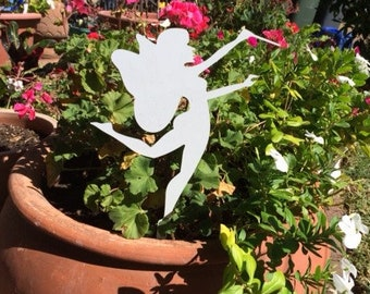 Fairy Conductor. Garden Decor. Yard Art. Garden Fairy. Flowerpot Fairy.