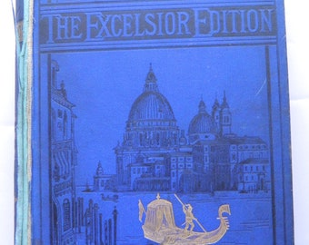 Works of Lord Byron Excelsior Edition Illustrated circa 1880