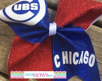 Cubs Bow - 1 color logo