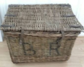 Antique Linen Basket