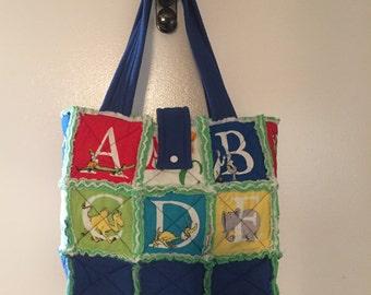 Rag Bag Diaper Bag Tote