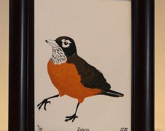 Robin W/ Frame