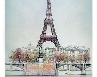 Eiffel Tower by Rolf Rafflewski