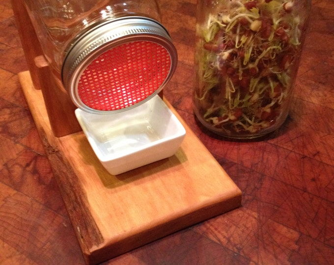 Featured listing image: Sustainable Homesteading Sprout Kit with Rustic Appeal Cherry #1