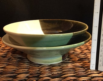 Tri-Colored Serving Bowls (set of 2)