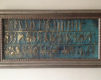 Nice Ancient Wall Decor, Rustic Wall Decor, Ancient Wall Art Sculpture Wall  Decor Bronze Wall
