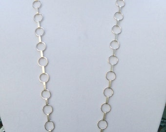 Sterling Silver Chain Link Necklace