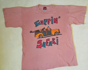 Vintage Disney tee-shirt Surfin' Safari