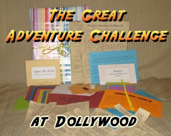 Scavenger Hunt Adventure - Dollywood - The Great Adventure Challenge