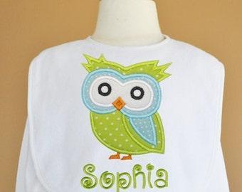 Owl 2 Applique - 4 sizes